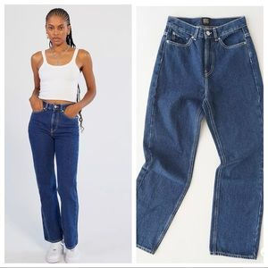 UO BDG high waist cowboy jeans sz 24 (ж5)